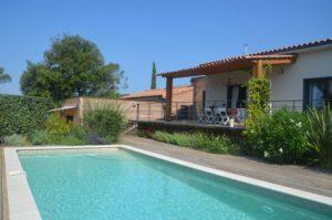 Piscine villa Chamarel